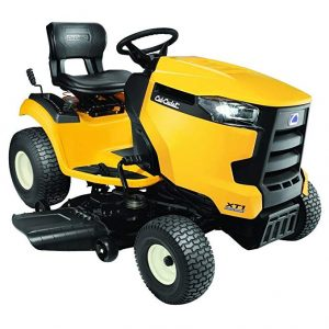 Cub Cadet XT1 Enduro Series Kohler Hydrostatic Gas Front-Engine Riding Mower for hills