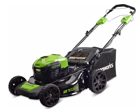 Greenworks 21-Inch 40V Self-Propelled Cordless