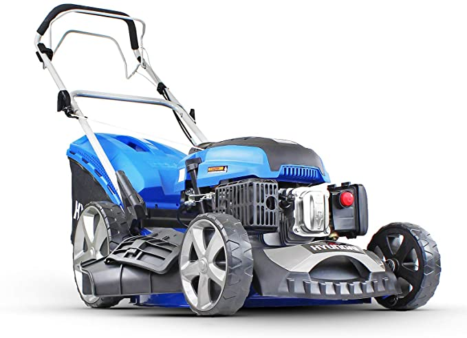 Hyundai HYM510SP 4-Stroke Petrol Lawn Mower 173CC Self Propelled 51cm 20 inch Cutting Width