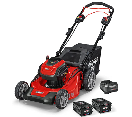 Snapper XD Electric Cordless 21-Inch Self-Propelled Lawn Mower Kit