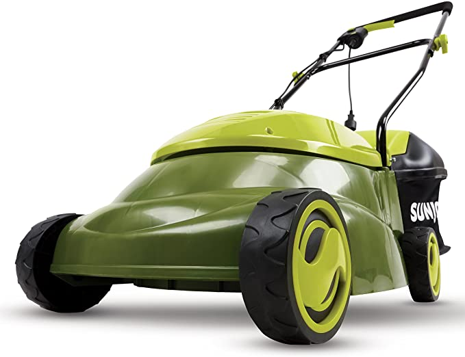 Sun Joe MJ401E 14-Inch 12 Amp Electric Lawn Mower with Grass Bag, Green.jpg