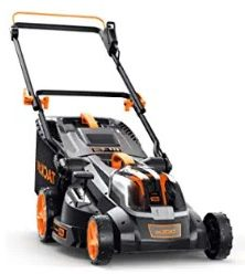 TACKLIFE Cordless Lawn Mower (clean cutting rate)