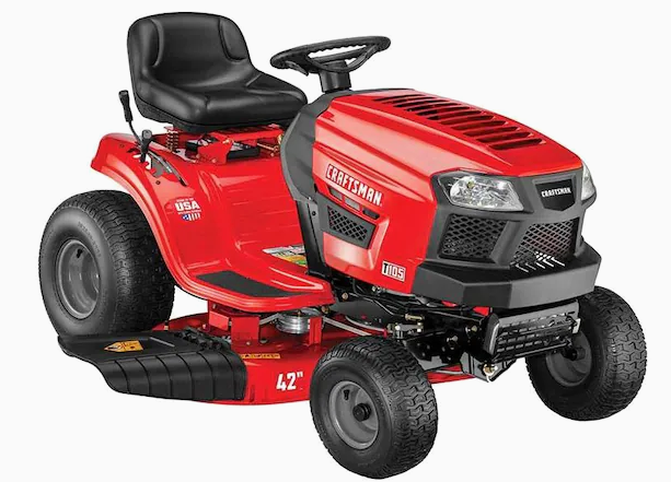 CRAFTSMAN T105 Riding Lawn Mower