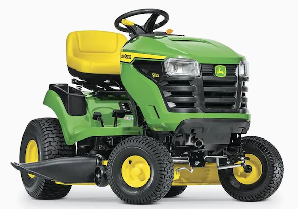 John Deere S100 Riding Lawn Mower
