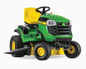 John Deere E150 CARB 22-HP V-twin Side By Side Hydrostatic 48-in Riding Lawn Mower with Mulching Capability (Kit Sold Separately) CARB