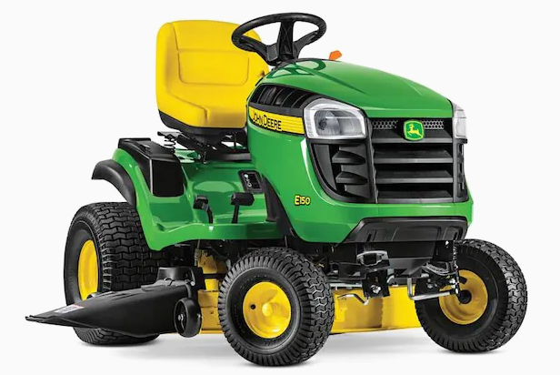 John Deere E150 Riding Lawn Mower