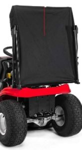 Craftsman Collapsible Riding Lawn Mower Sun Shade Attachment with Storage Bag, Black