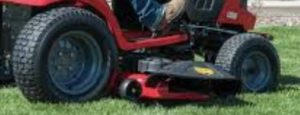 CRAFTSMAN T110 17.5-HP Manual/Gear 42-in Riding Lawn Mower with Mulching Capability (Kit Sold Separately) CARB